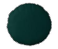Almofada Redonda em Veludo com Griló Davi l Verde - 40cm | WestwingNow
