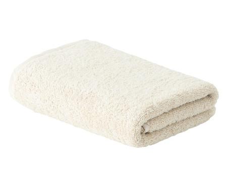 Toalha de Rosto Organic Off White - 500 g/m² | WestwingNow
