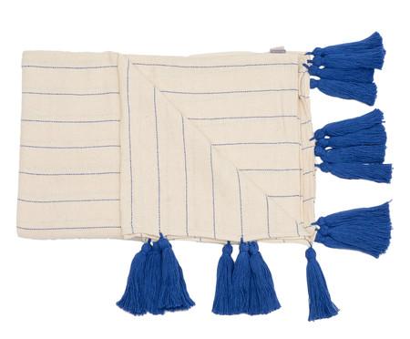 Manta para Sofá com Tassel Mar - Azul | WestwingNow