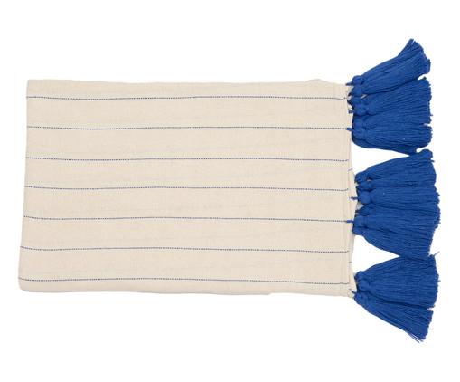 Manta para Sofá com Tassel Mar - Azul, Bege, Azul | WestwingNow