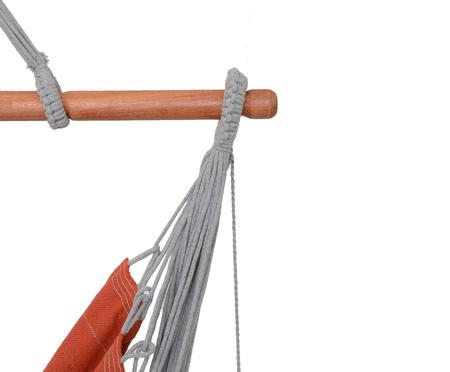 Poltrona Suspensa com Tassel Tri Mandacaru - Telha | WestwingNow