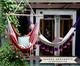 Cadeira de Balanço com Tassel Tri Mandacaru - Telha, Marrom | WestwingNow