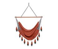 Cadeira de Balanço com Tassel Tri Mandacaru - Telha | WestwingNow