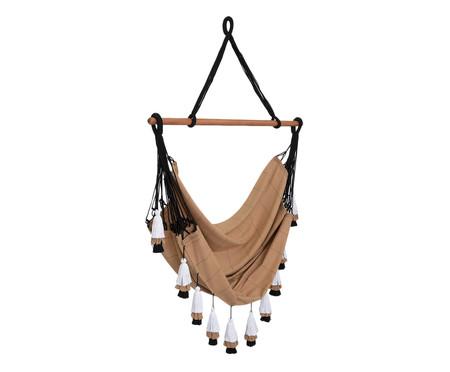 Cadeira de Balanço com Tassel Tribo - Mascavo | WestwingNow