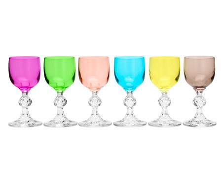 Jogo de Taças para Licor em Cristal Ravens - Colorido | WestwingNow