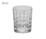 Jogo de Copos para Drinks em Cristal Bills - Transparente   WestwingNow