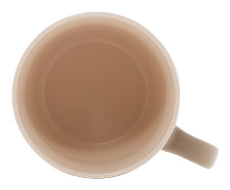Jogo de Xícara para Chá com Cerâmica em Porcelana Giulietta - Cinza | WestwingNow