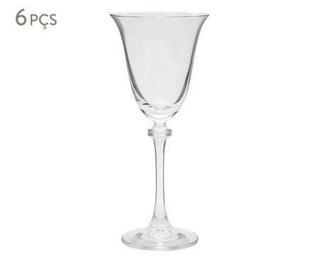 Jogo de Taças para Vinho Branco em Cristal Cardinals - Transparente | WestwingNow