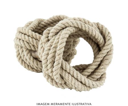 Jogo de Anéis para Guardanapo em Fibra Natural Lara - Bege | WestwingNow