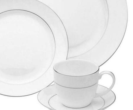 Jogo de Jantar em Porcelana Nice - 06 Pessoas   WestwingNow