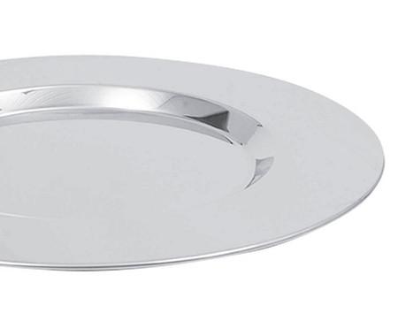 Jogo de Porta-Copos em Aço Inox Elegance - Prata | WestwingNow
