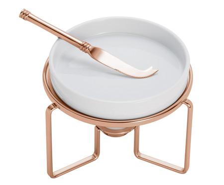 Réchaud para Queijo em Porcelana Best - Rosé | WestwingNow