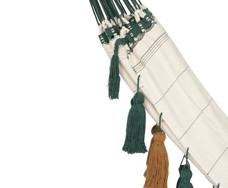 Rede com Tassel Jerí - Branca e Verde | WestwingNow