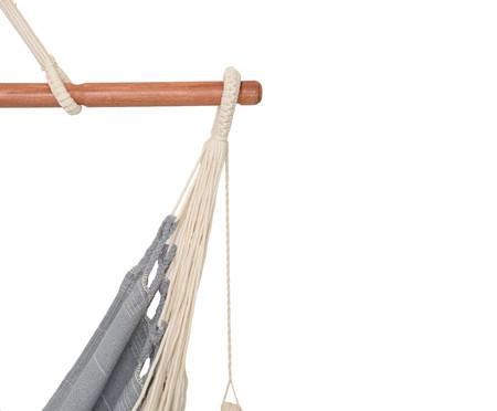 Cadeira de Balanço com Tassel Argila - Cinza | WestwingNow