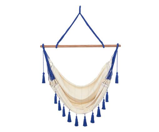 Cadeira de Balanço com Tassel Mar - Azul, Bege | WestwingNow