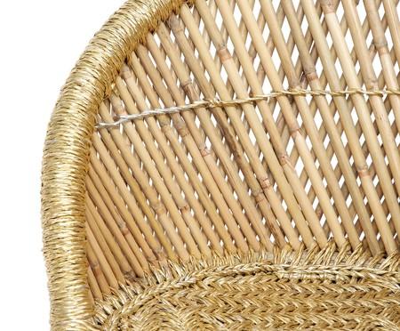 Poltrona Agra - Dourado e Natural | WestwingNow