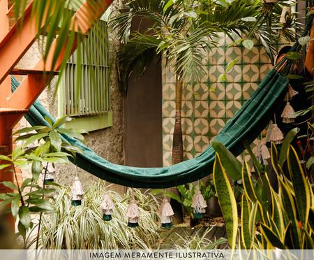 Rede com Tassel Tri Tribo - Verde | WestwingNow