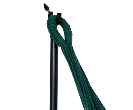 Rede com Tassel Tri Tribo - Verde | WestwingNow