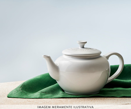 Bule para Chá com Infusor - Branco | WestwingNow