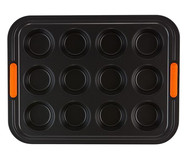 Forma Para Muffin 12 Moldes -  Matte Black | WestwingNow