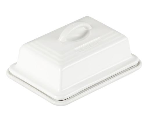 Manteigueira em Cerâmica - Branca, Branco | WestwingNow