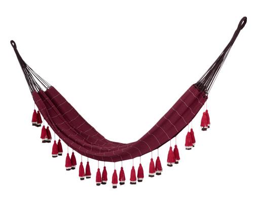 Rede com Tassel Tri Tribo - Vinho, Vermelho | WestwingNow