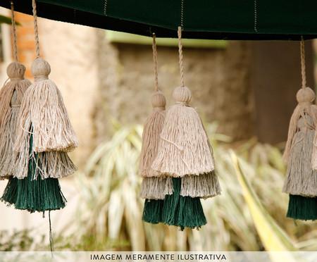 Rede com Tassel Tri Tribo - Vinho | WestwingNow