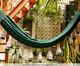 Rede com Franjas Assimétricas - Caramelo, Bege | WestwingNow