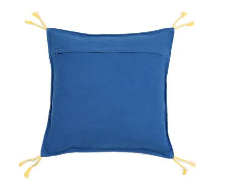 Capa de Almofada com Tassel Dewas Azul | WestwingNow
