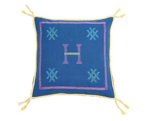 Capa de Almofada com Tassel Dewas Azul, AZUL | WestwingNow