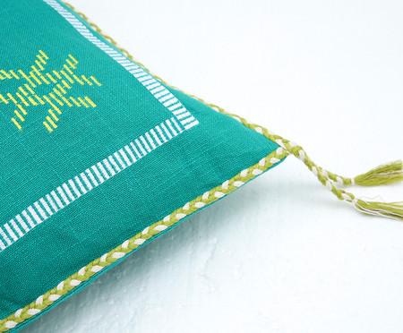 Capa de Almofada com Tassel Dewas Verde | WestwingNow