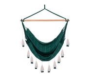 Poltrona Suspensa com Tassel Tri Tribo - Verde | WestwingNow