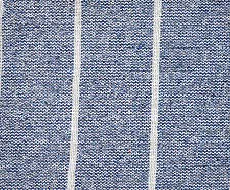 Manta Munnar - Azul e Natural | WestwingNow