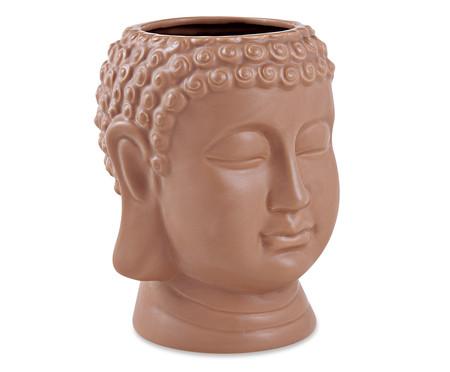 Vaso em Cerâmica Buda Dom - Marrom | WestwingNow