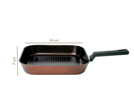 Frigideira Grill de Indução Reverse - Marrom | WestwingNow