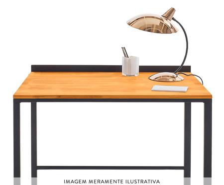 Escrivaninha de Madeira e Metal Martin - Preta | WestwingNow