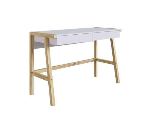 Escrivaninha Noble - Branco, Branco   WestwingNow