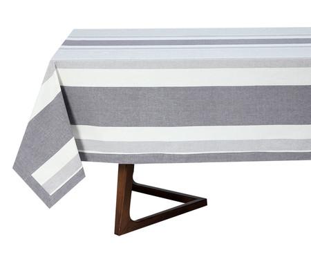 Toalha de Mesa em Algodão Lush Retangular - Cinza | WestwingNow