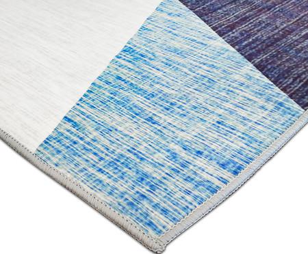Tapete Geo Print - Azul e Amarelo | WestwingNow