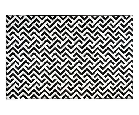 Tapete Geo Print - Preto e Branco | WestwingNow
