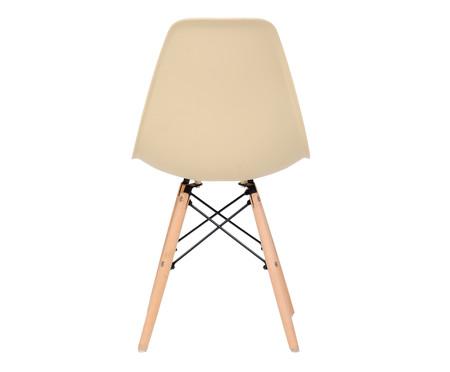 Jogo de Cadeira Eames - Areia   WestwingNow