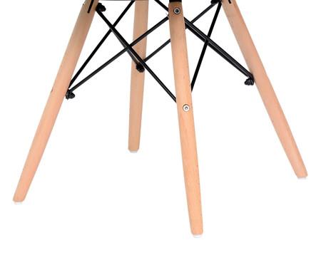 Jogo de Cadeira Eames - Preto   WestwingNow