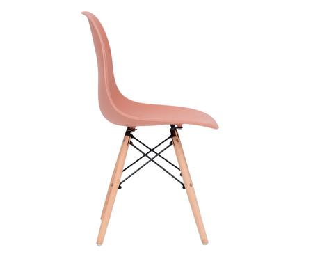 Jogo de Cadeira Eames - Terracota   WestwingNow