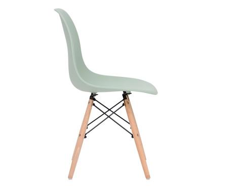 Jogo de Cadeira Eames - Bentonita   WestwingNow