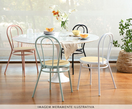 Cadeira Vienna - Rosa e Natural   WestwingNow