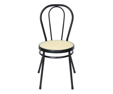 Cadeira Vienna - Preto e Natural | WestwingNow