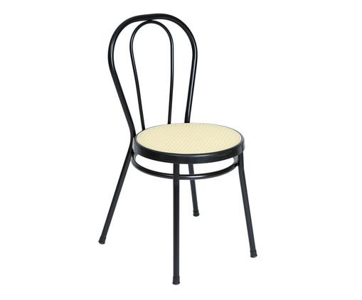 Cadeira Vienna - Preto e Natural, Preto | WestwingNow
