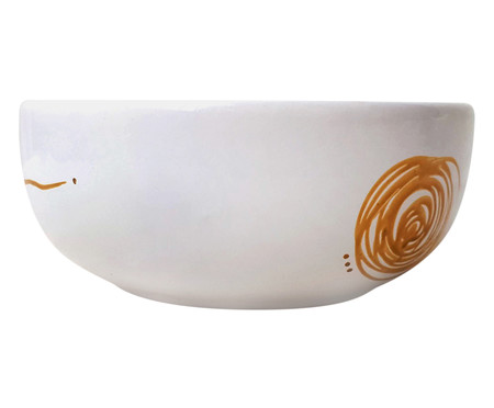 Bowl em Porcelana Lua Sorri - Branco   WestwingNow
