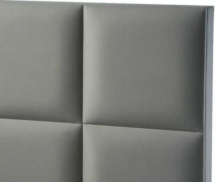 Cabeceira Painel Estofada Milão - Cinza Platina | WestwingNow