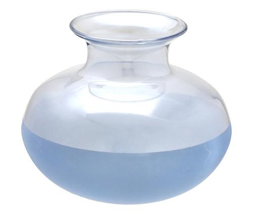Vaso em Vidro Patrício l - Azul, Azul,Transparente | WestwingNow